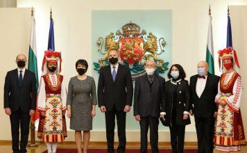 Александър Балкански, Въто Христов и Мария Колева получиха Почетния знак на президента