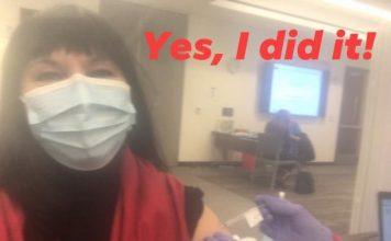 Пловдивчанка, която живее в САЩ, се ваксинира срещу COVID-19 и сподели първите си впечатления