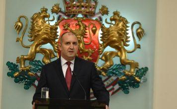 Румен Радев с послание за нова България