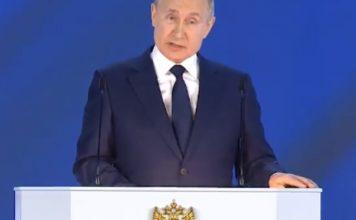 """Путин предупреди: Нито една държава да не прекрачва """"червените линии"""" на Русия"""
