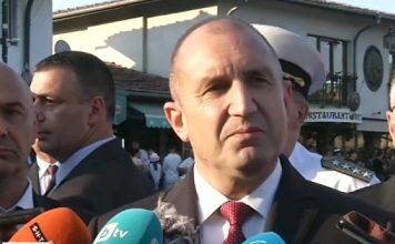 Радев: Ще връча мандата, когато партиите гарантират, че са постигнали резултат в преговорите