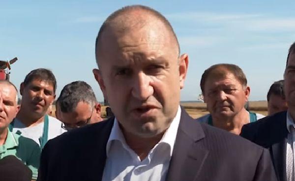 Румен Радев: Часът на Борисов удари, ще отговаря за всичките милиарди, потънали в джоба му!