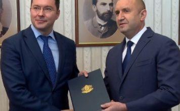 Президентът към ГЕРБ при връщането на мандата: Благодаря за улеснението