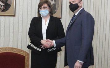 Прави го: Корнелия Нинова предлага служебното правителство на Румен Радев за редовно!
